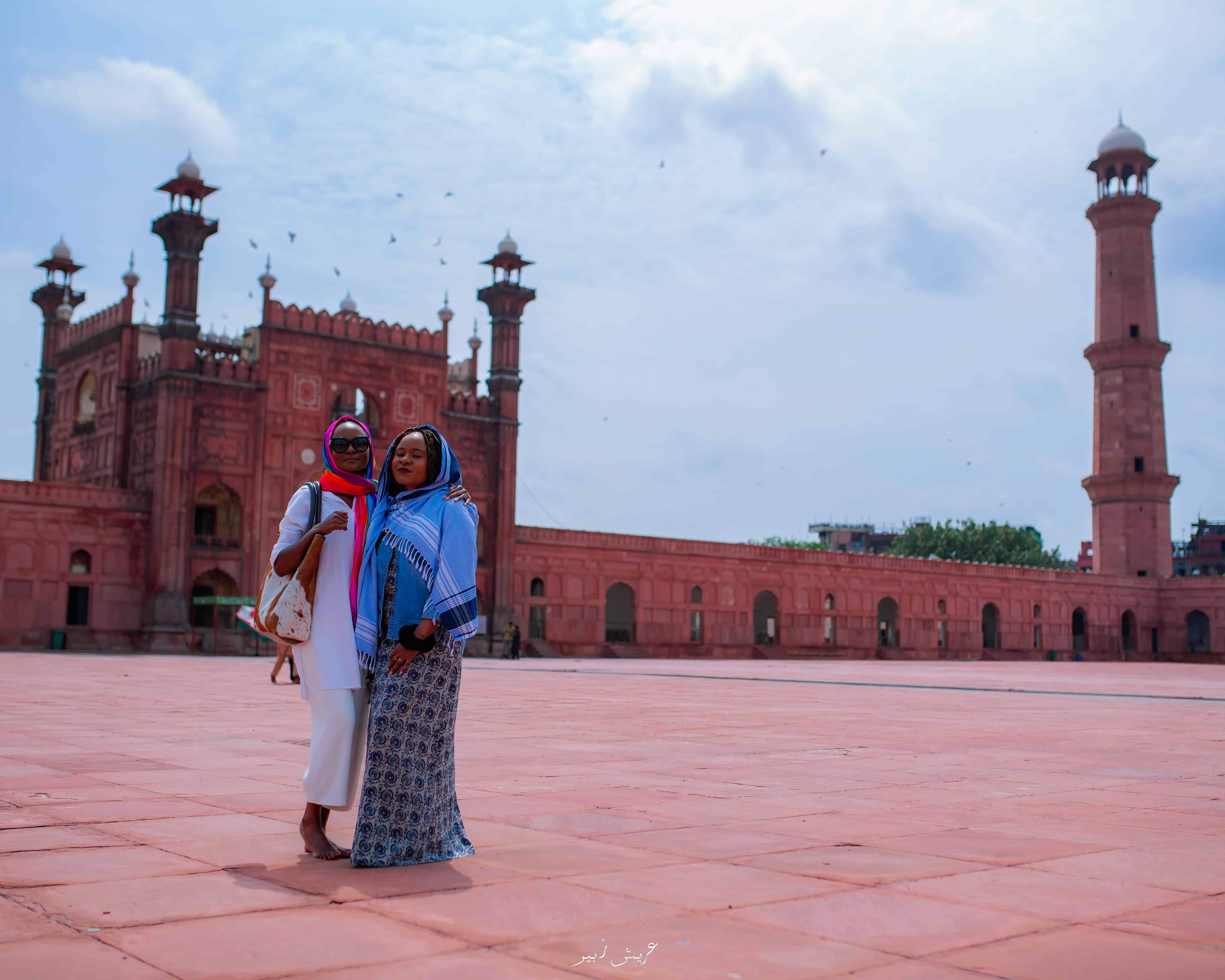 Badshahi Mosque, Lahore Walled City Pakistan constructed in 1671-1673
