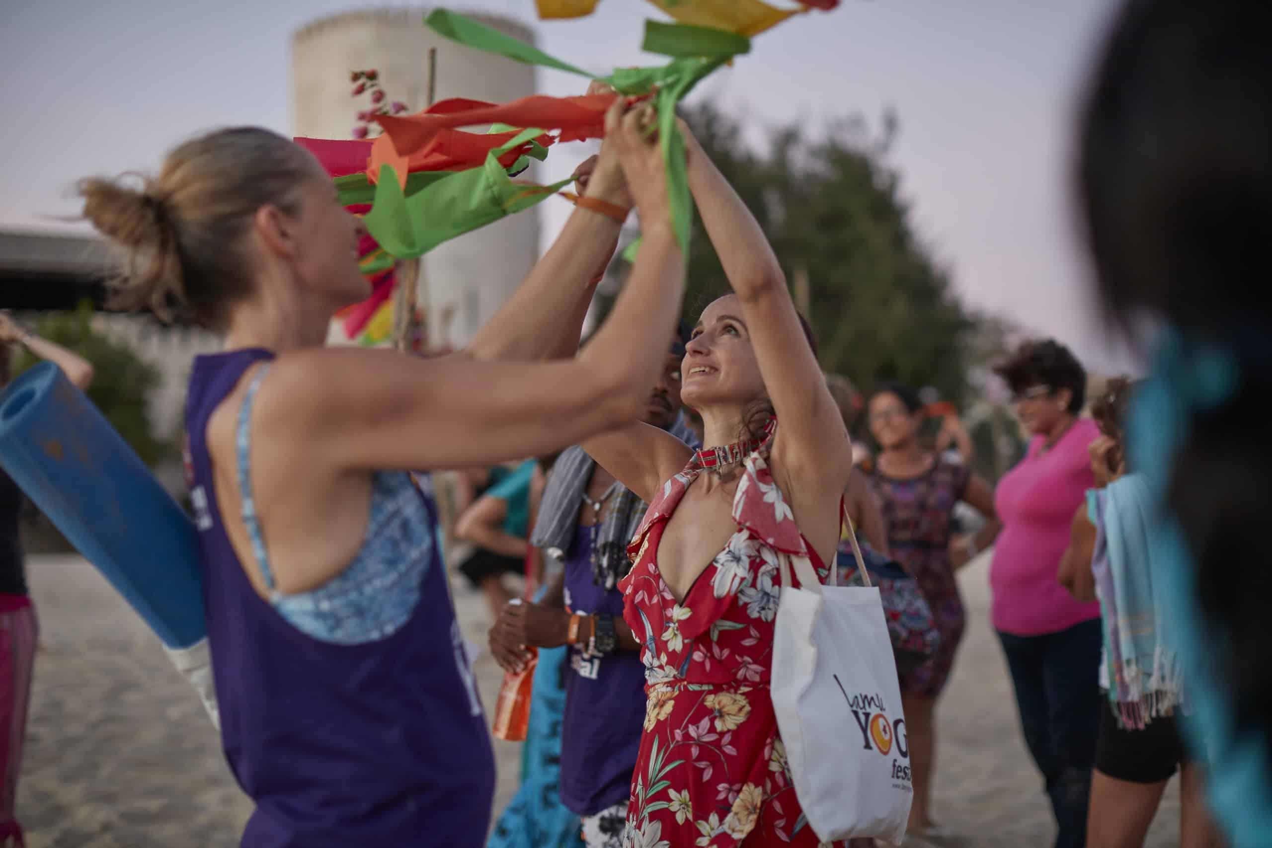 Lamu Yoga festival opening