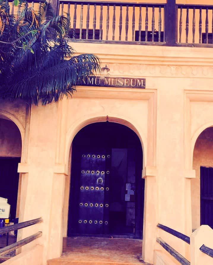 Lamu Museum's ancient architecture