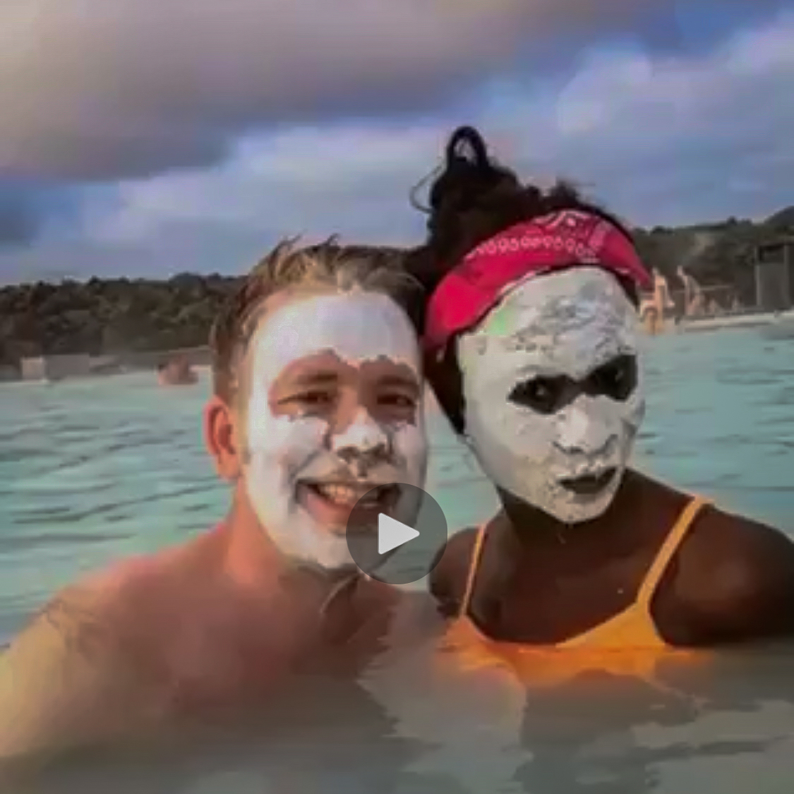 Blue Lagoon mask