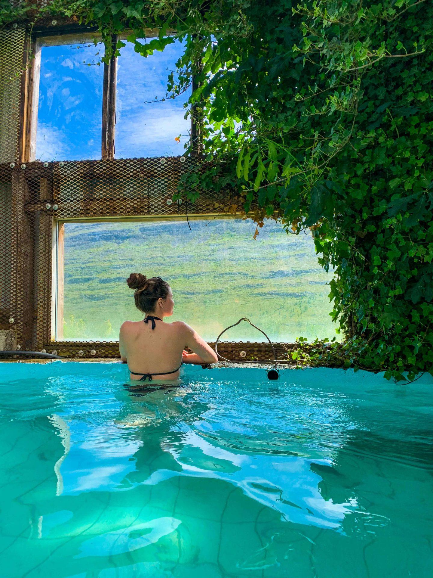 Heydalur Greenhouse Pool
