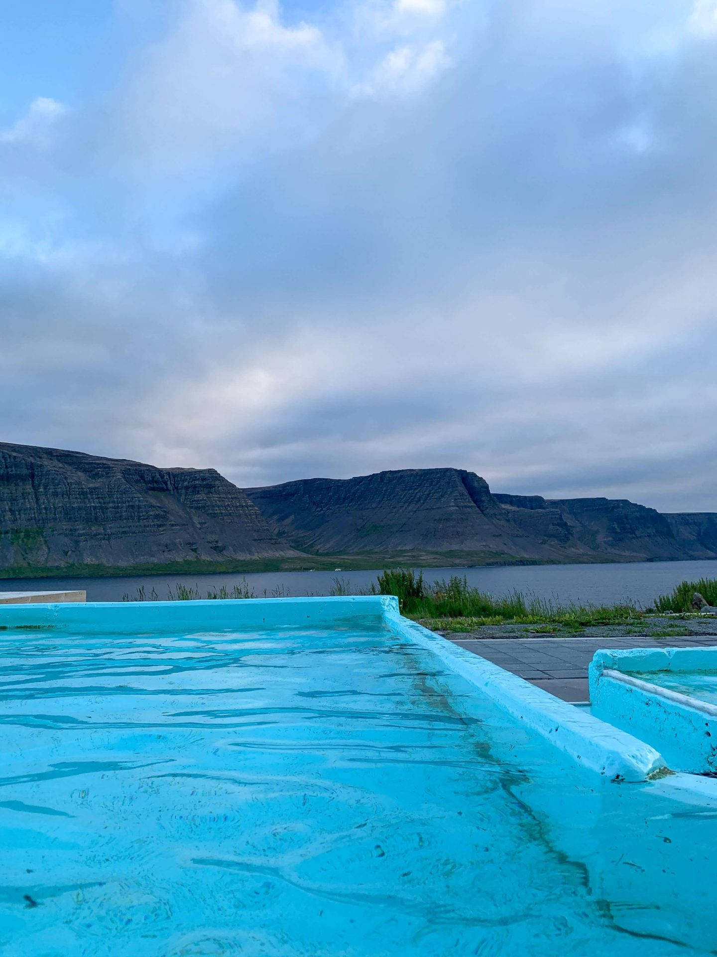 """Pollurinn which literally means """"The Puddle"""" is a hot spring in Talknafjordur"""