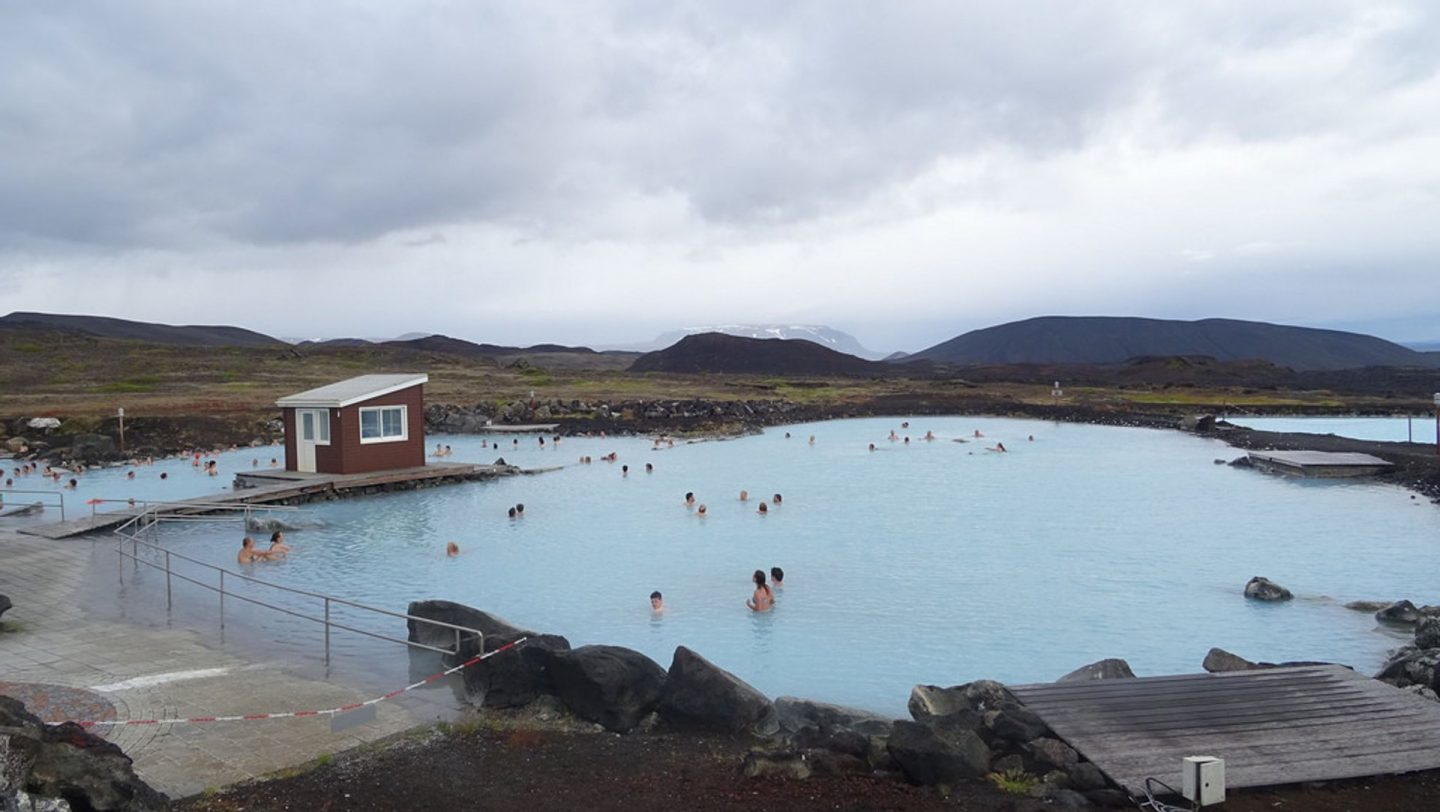 Myvatn Nature Baths is dubbed the Blue Lagoon of the north of Iceland