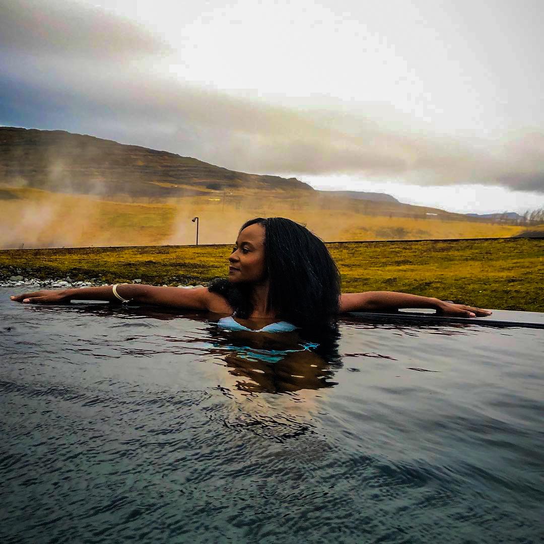 Krauma hot baths in Iceland