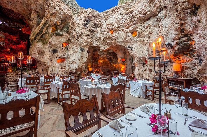 Ali Babours Cave Restaurant, Diani Beach Kenya