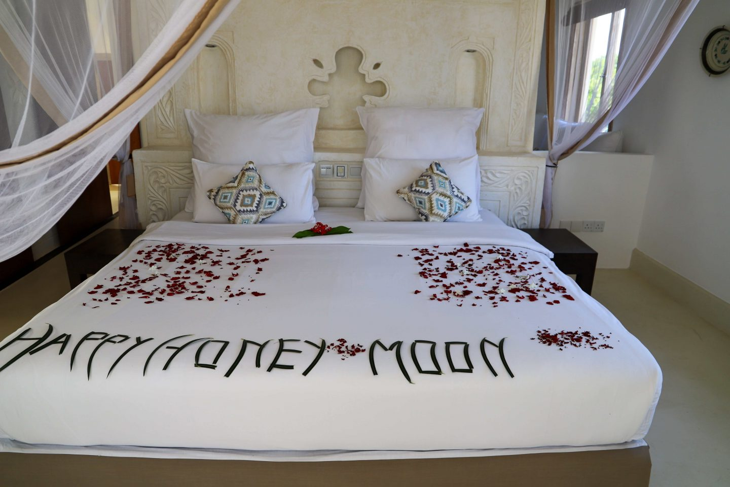 honey moon suite at Swahili beach