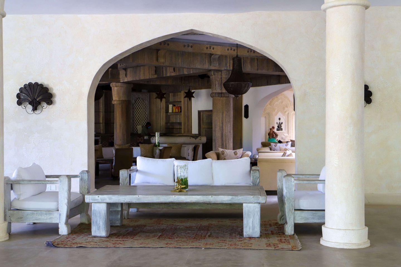 baraza bar at Swahili beach