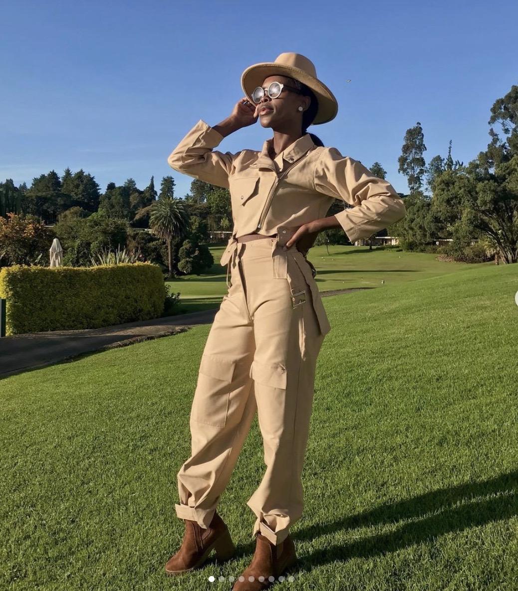 Safari style jumpsuit