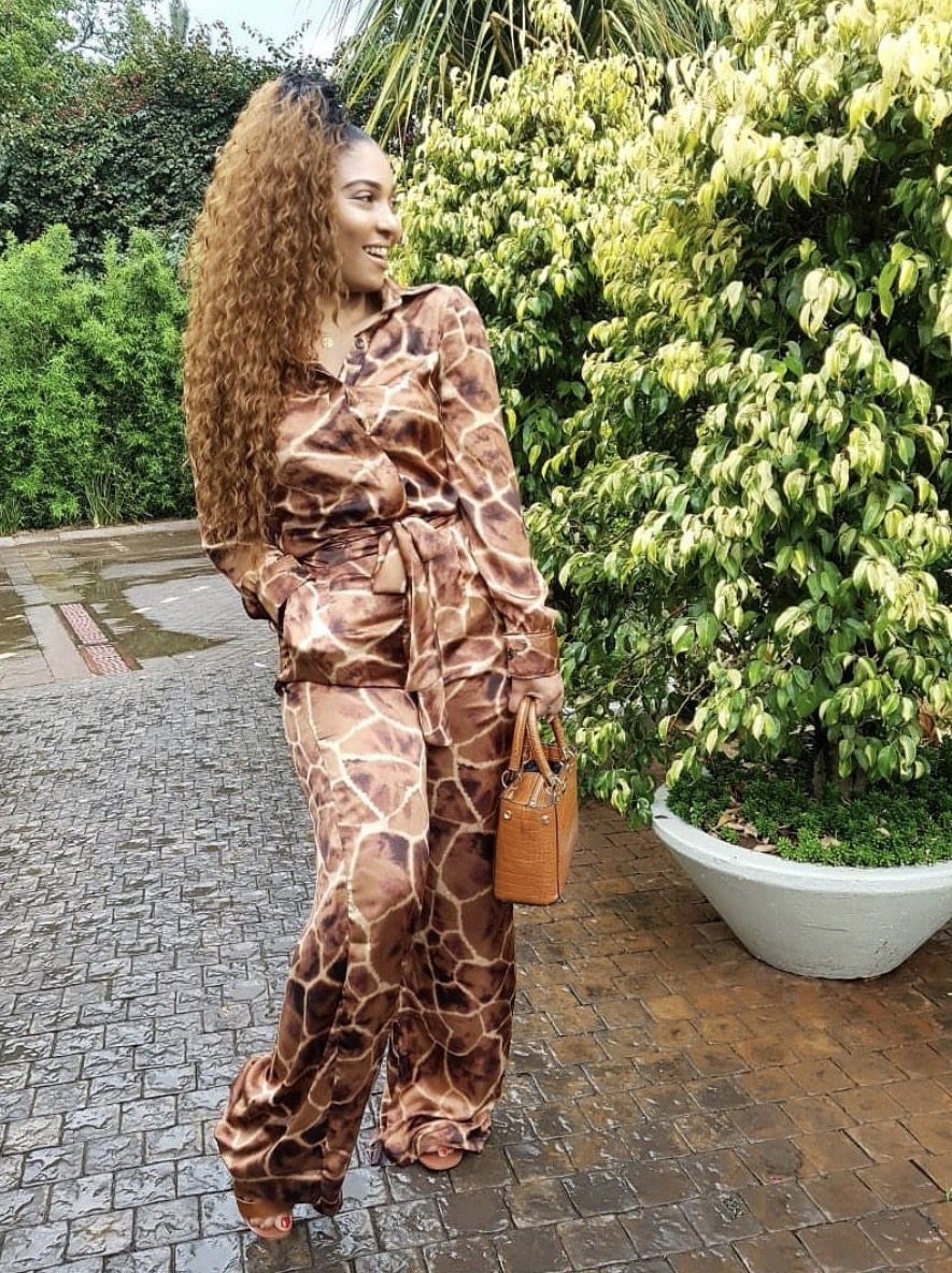 women safari attire