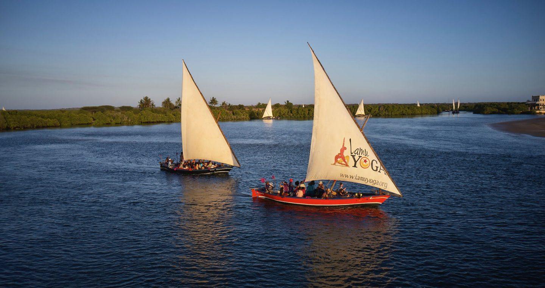 Lamu sailing