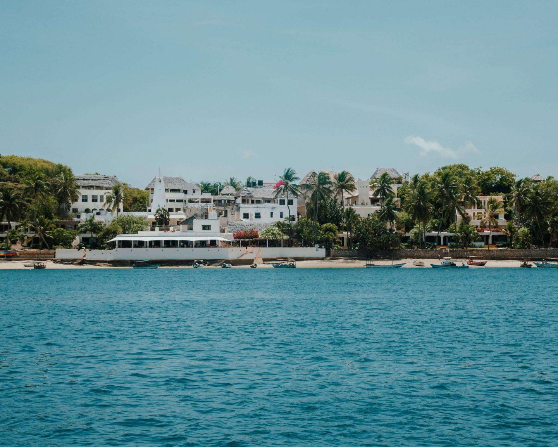 View of Shela Island Lamu