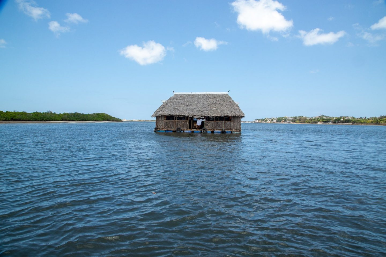 Shela-Lamu-island floating restaurant