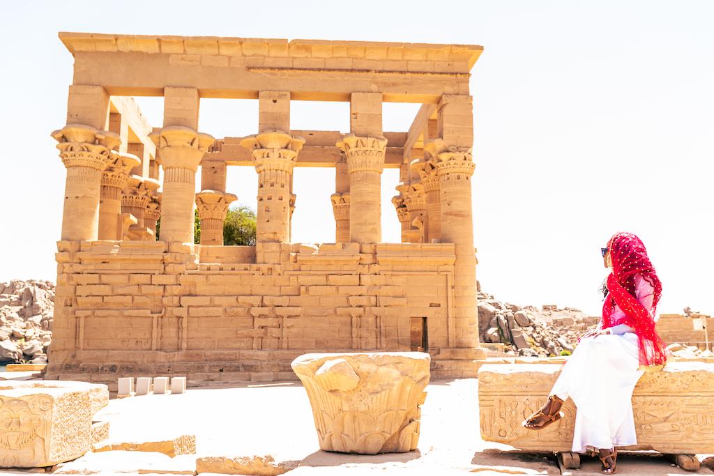 Philae temple visiting