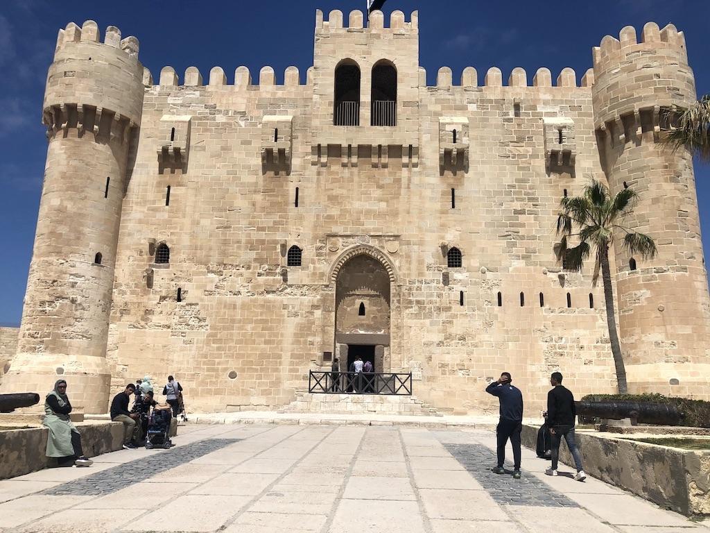 Citadel-of-Qaitbay Alexandria