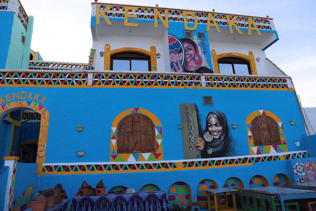 Kendaka hotel in Nubian village Aswan