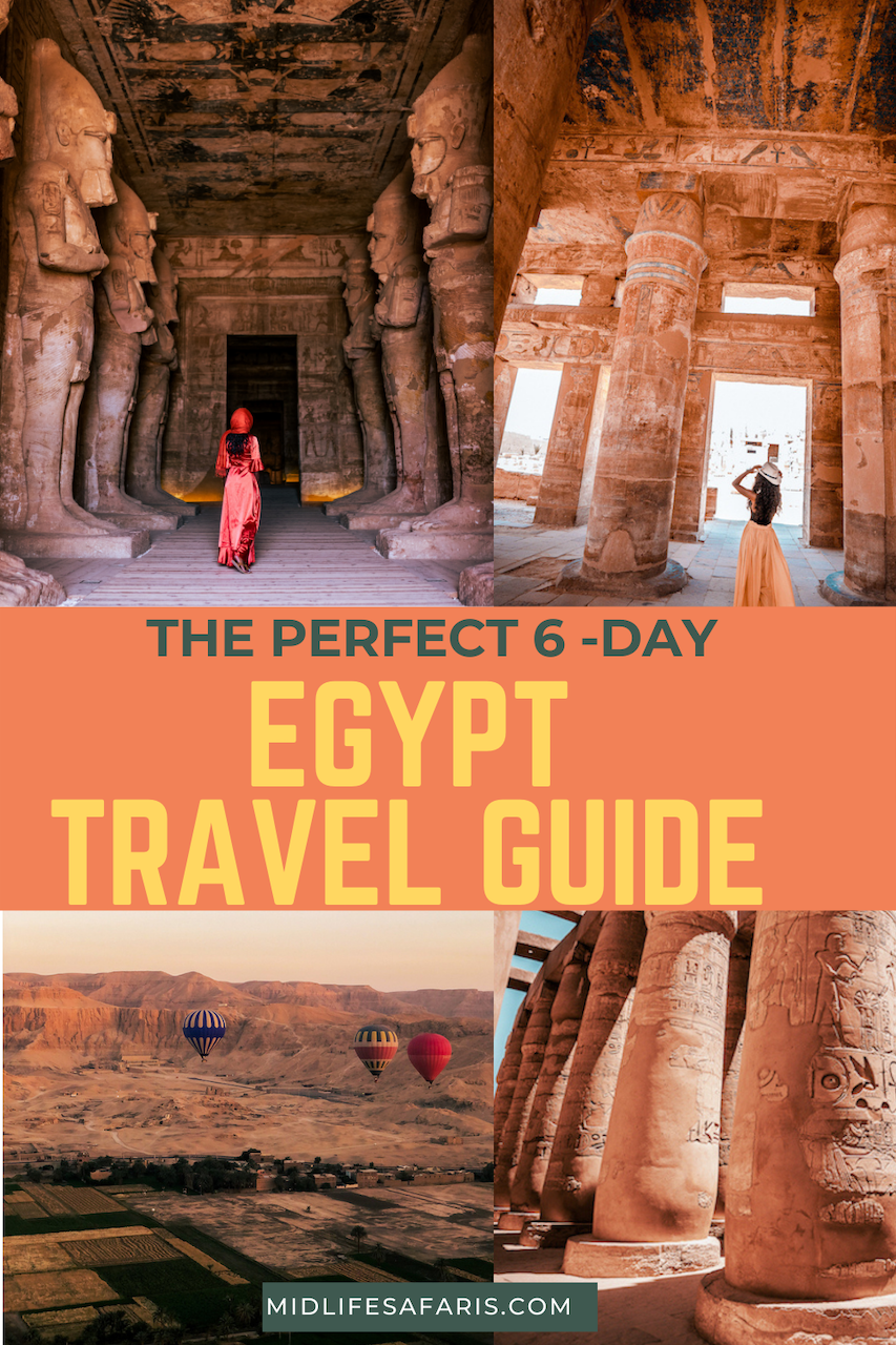six day travel guide to Egypt