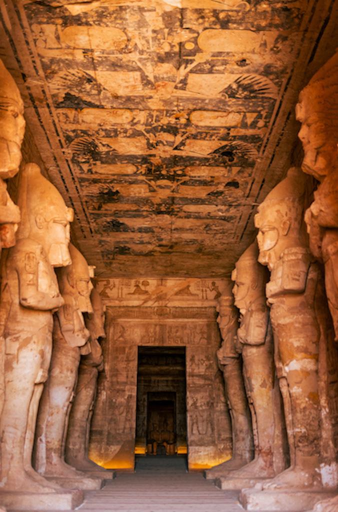 abu simbel temples hieroglyphics