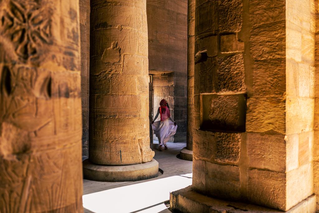 Philae temple interior